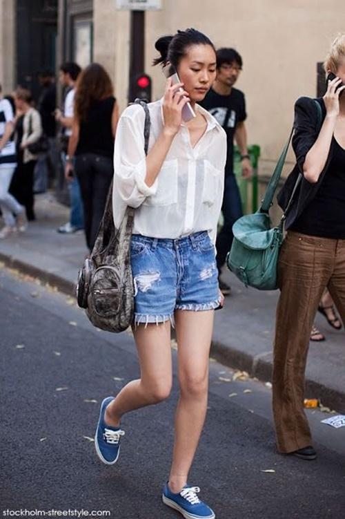 Mùa của short jeans tới rồi, chắc gì bạn đã biết cách mặc? - 12