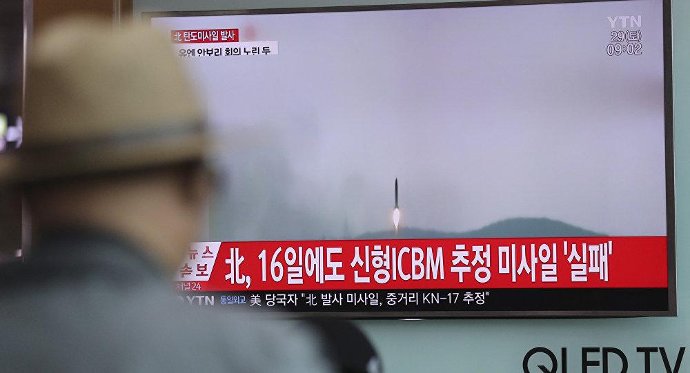 Tên lửa Triều Tiên vừa thử có đường bay khác thường - 1