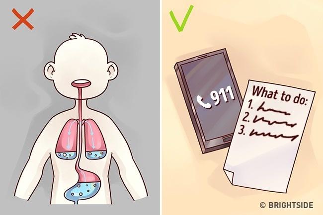 Những mẹo sơ cứu đơn giản nhưng 90% trong số chúng ta thường làm sai - 6