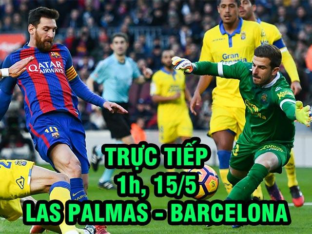 TRỰC TIẾP bóng đá Las Palmas – Barcelona: Què quặt tuyến sau