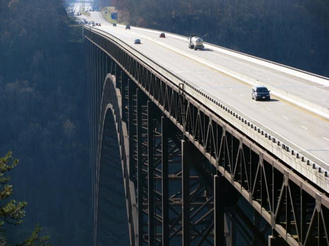 Cầu New River Gorge, Mỹ.