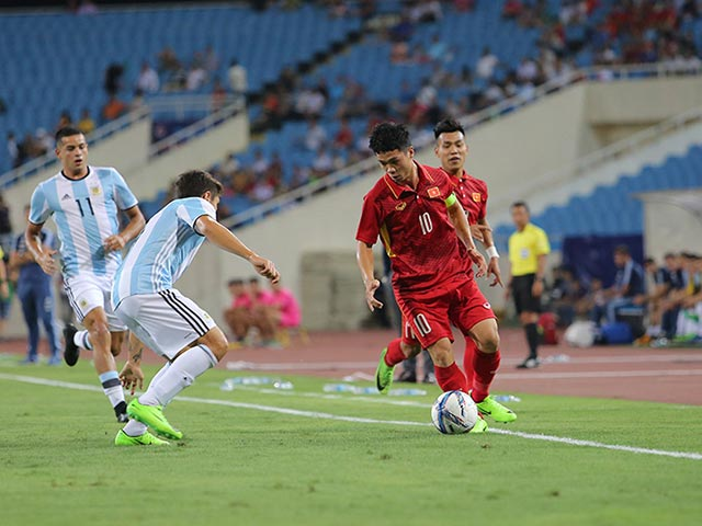 U22 Việt Nam - U20 Argentina: Bão bàn thắng tại Mỹ Đình