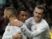 """Bóng đá - Tam tấu Real Madrid: Mình Ronaldo """"cày"""", 2 SAO ăn hại"""