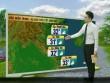 Dự báo thời tiết VTV 14/5: Bắc Bộ ngày nắng đẹp, đêm mưa dông