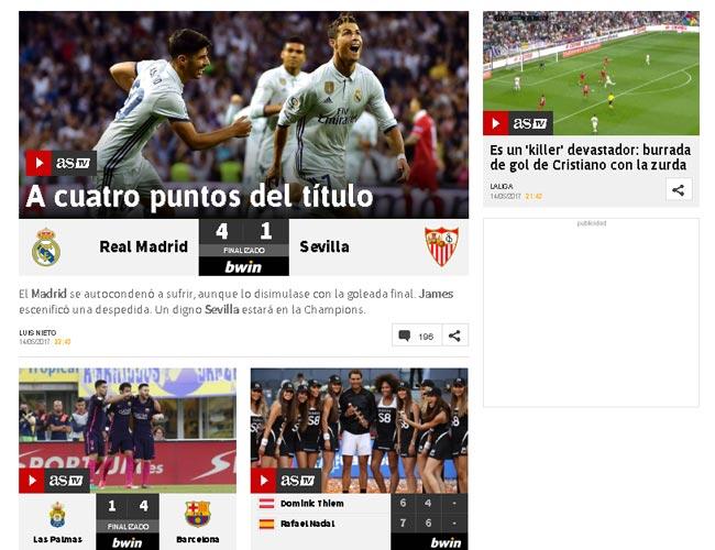 """Báo chí bái phục Ronaldo: """"Quái vật"""" vòng cấm đáng sợ nhất - 2"""