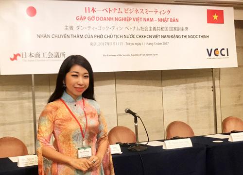 Ngọc trai Hoàng Gia gây chú ý trong hội nghị toàn cầu tại Nhật Bản - 1
