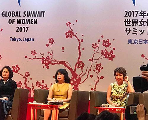 ATZ Healthylife tham dự Hội nghị Thượng đỉnh Phụ Nữ Toàn Cầu - 1