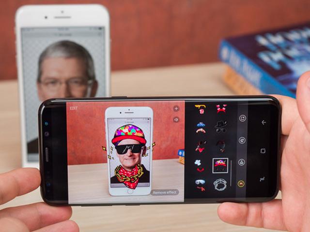 So sánh ảnh chụp từ camera Galaxy S8+ với iPhone 7 Plus