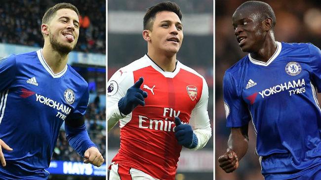 """Cầu thủ hay nhất Premier League: Thành London """"đè bẹp"""" thành Man - 1"""