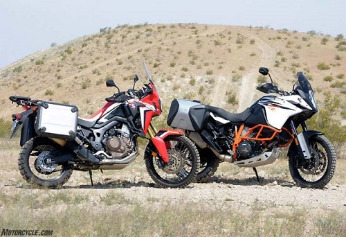 Lựa chọn KTM 1090 Adventure R hay Honda CRF1000L Africa Twin? - 1