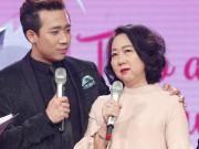 Mẹ Trấn Thành khóc trên truyền hình, không muốn con trai làm nghệ sĩ