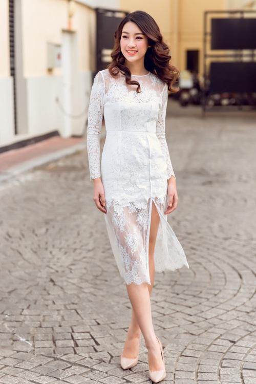 Hoa hậu Mỹ Linh kiếm được tiền vẫn xin phép mẹ mua hàng hiệu - 3