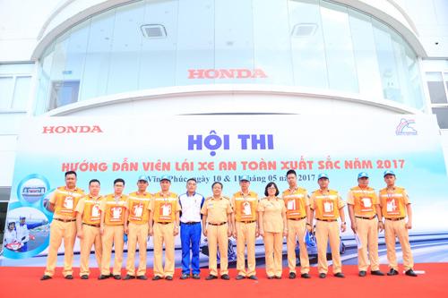 """""""Hướng dẫn viên Lái xe an toàn xuất sắc năm 2017"""" - sân chơi lớn từ Honda Việt Nam - 1"""