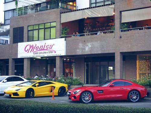 Mercedes-AMG GT-S mới tậu của Cường Đô La thay 'áo mới' - 9