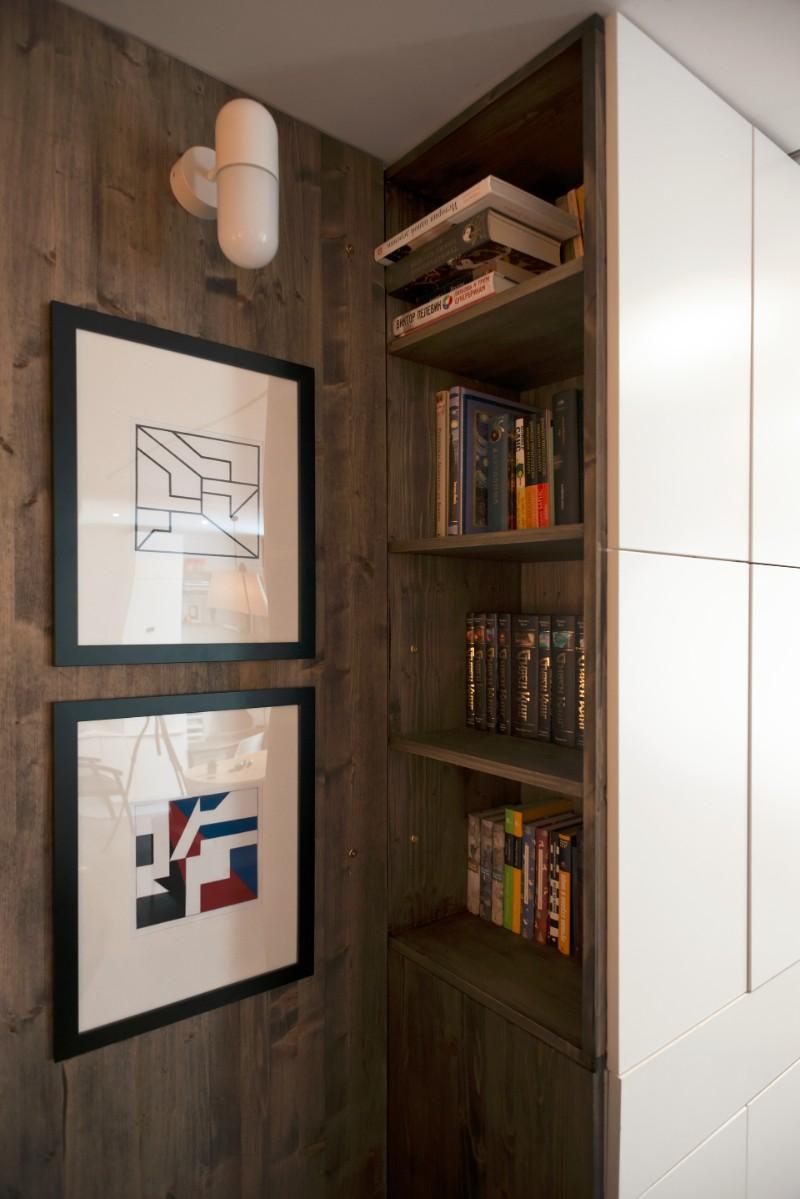 """""""Hộp ngủ"""" sáng tạo cho căn hộ 35m2 rộng khó tin - 10"""