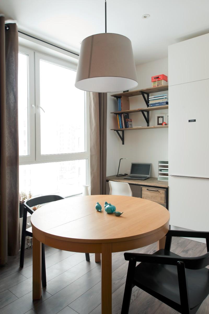 """""""Hộp ngủ"""" sáng tạo cho căn hộ 35m2 rộng khó tin - 14"""