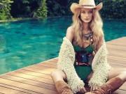Làm đẹp - Siêu mẫu Canada xinh hết phần người khác bật mí bí quyết khỏe đẹp