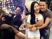 Ca nhạc - MTV - Lấy vợ rồi nhưng Cao Thái Sơn vẫn thường xuyên ôm ấp cô gái này