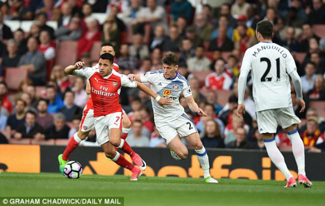Arsenal - Sunderland: Bùng nổ 10 phút định đoạt - 1
