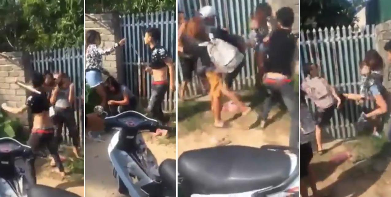 Clip: Cô gái bị 5 thanh niên đánh dã man, gây phẫn nộ cộng đồng mạng - 1
