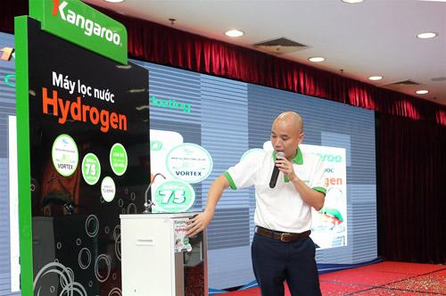 Công nghệ tạo nước kiềm Hydrogen ra mắt người tiêu dùng Việt - 2