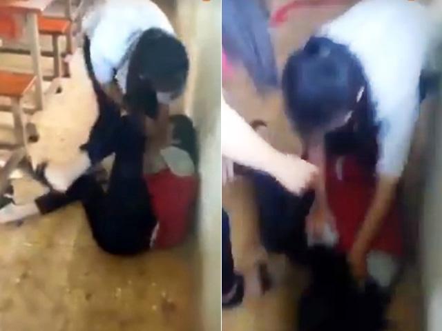 """Nữ sinh bị đánh bầm dập vì câu """"chúc anh ngủ ngon"""""""