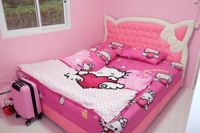 Bố mẹ của năm: Bỏ trăm triệu xây nhà Kitty hồng rực cho con gái - 5
