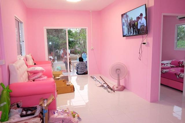 Bố mẹ của năm: Bỏ trăm triệu xây nhà Kitty hồng rực cho con gái - 11