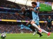 Man City - West Brom: Bước ngoặt 106 giây