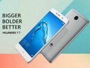 Thời trang Hi-tech - Huawei Y7 dùng pin 4000 mAh, chạy Android 7.0 Nougat ra mắt
