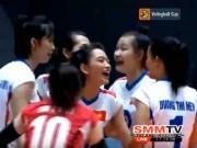 Thể thao - Bóng chuyền nữ: U23 VN thắng dễ Malaysia, cân não ở tứ kết