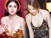 """Thời trang - Vợ cũ Phan Thanh Bình, Hồng Quế khêu gợi hơn nhờ """"tu sửa"""" vòng này"""
