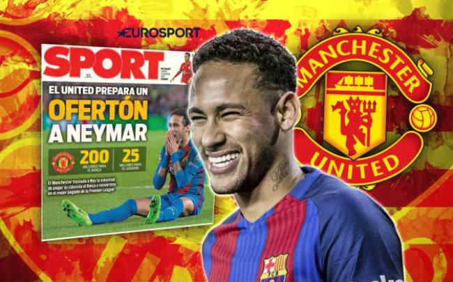 Neymar rời Barca: Chỉ chờ MU – Mourinho tái xuất Cúp C1 - 2