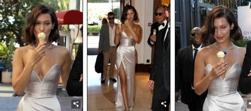 """Hot girl Hollywood nổi """"bần bật"""" tại Cannes vì sự cố váy xẻ sâu - 5"""