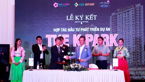 CenInvest và Hi Brand Việt Nam ký kết hợp tác cùng dự án The K - Park - 2