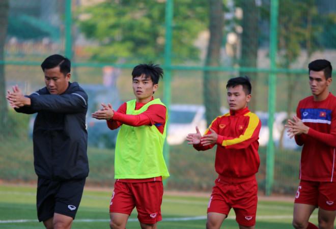 """U20 Việt Nam: """"Đàn em"""" Công Phượng băng chân tập cực sung - 2"""