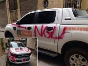 """Tin tức trong ngày - Chủ ô tô bị sơn chữ NGU: """"Tôi cũng bực bội nếu ngõ bị chặn xe"""""""