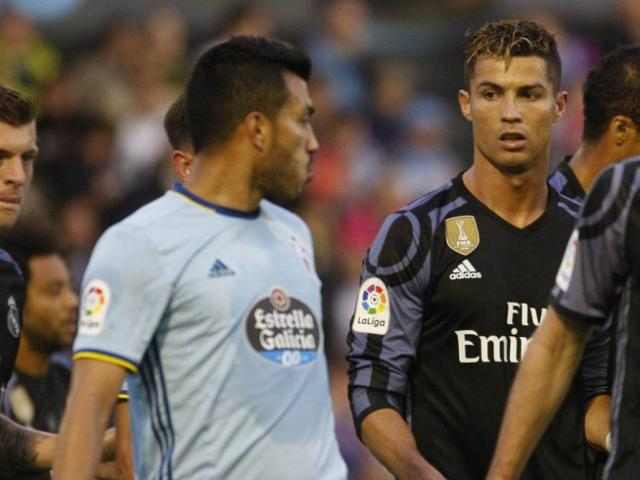 """Sốc: Nghi án Ronaldo """"môi giới"""" Celta Vigo giúp Real vô địch"""