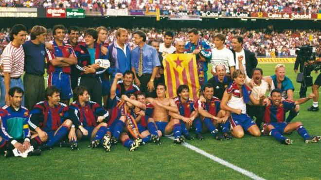 """Barca mơ """"hat-trick"""" vô địch Liga: Kỳ tích 23 năm có lặp lại? - 3"""