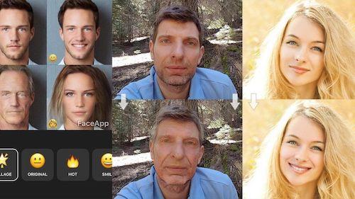 """Ứng dụng FaceApp giúp trẻ hóa khuôn mặt đang gây """"sốt"""" - 1"""