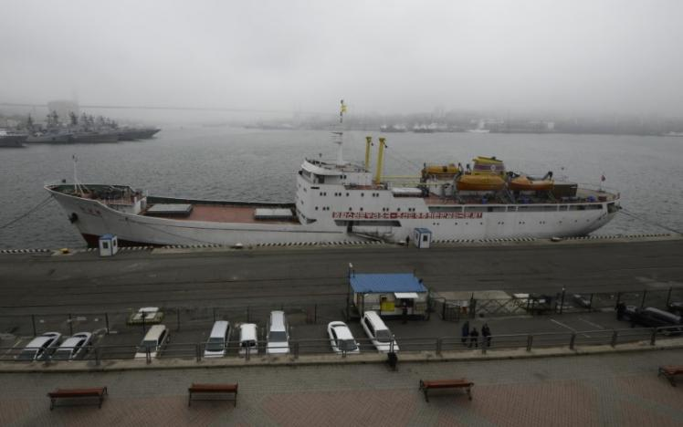 Xuất hiện tuyến phà mới nối Nga với Triều Tiên - 1