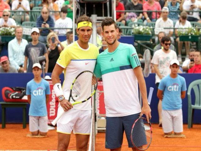 TRỰC TIẾP tennis Nadal - Thiem: