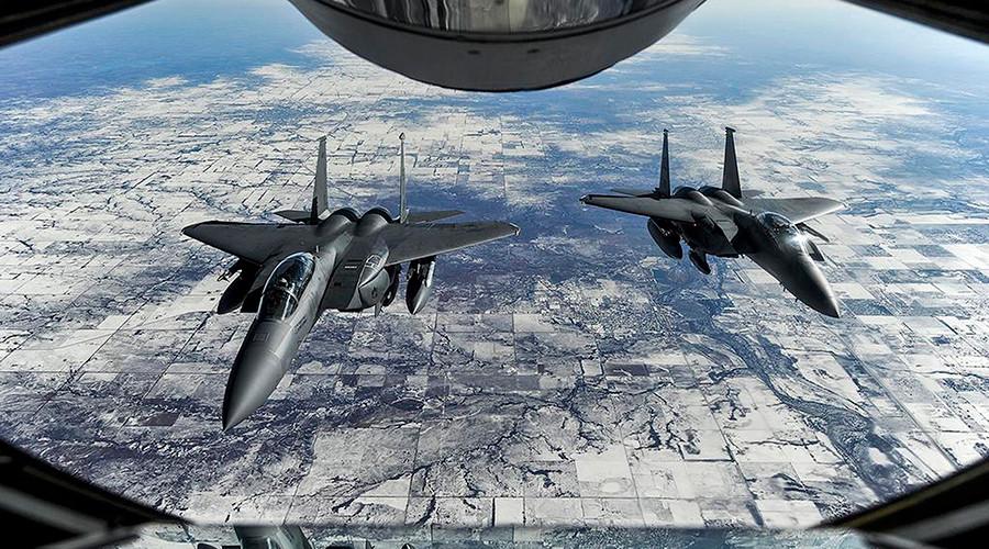 """Nga: Mỹ ném bom quân Syria là """"không thể chấp nhận"""" - 1"""