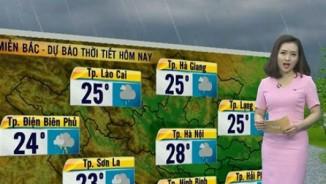 Dự báo thời tiết VTV 19/5: Bắc Bộ se lạnh, Nam Bộ mưa dông