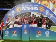 Bóng đá - MU tệ nhất vẫn sắp ăn 3 cúp: Chất đặc biệt của Mourinho
