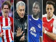 """Bóng đá - Chuyển nhượng MU: 4 """"sát thủ"""" trong tầm ngắm Mourinho"""