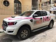 """Tin tức trong ngày - Vụ ô tô bị sơn chữ """"NGU"""": Chủ xe có thể bị phạt?"""