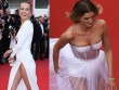 Lại một mỹ nữ khác phải xấu hổ vì váy xẻ cao tại Cannes