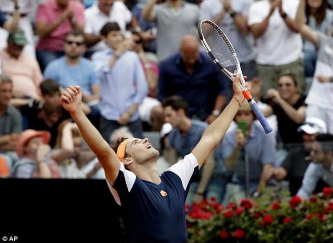 Thua sốc ở Rome Masters, Nadal lỡ hẹn vượt Djokovic - 2