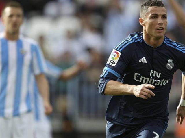 "Malaga là mồi ngon của Ronaldo: Liga trong ""túi"" Real"